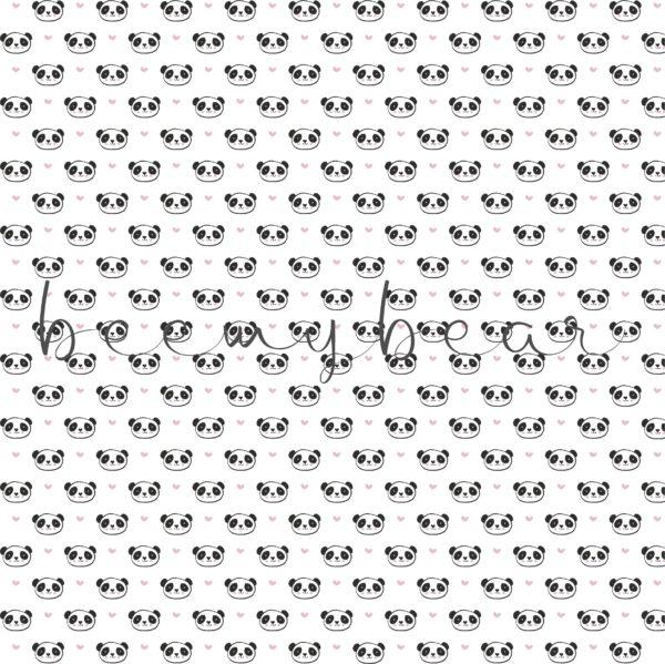 Designpapier Lovely Panda