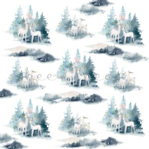 Designpapier Gentle Winter
