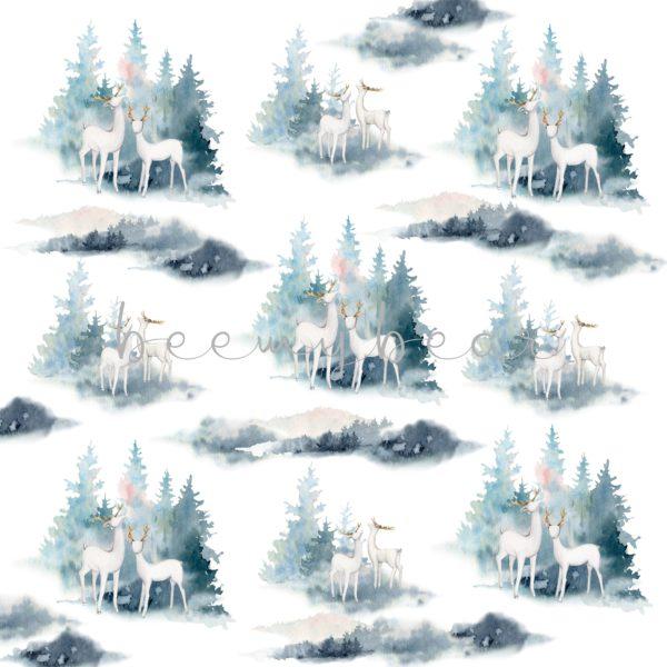 Designpapier Gentle Winter