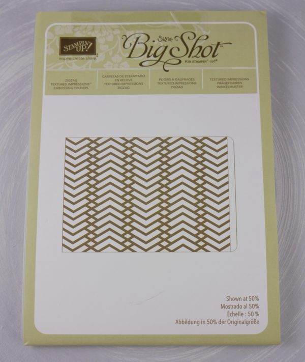 Stampin up Folder Winkelmuster